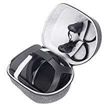Esimen Hard Carrying Case for Oculus Quest All-in-one VR Gaming Headset and Controllers 64GB 128GB Protective Storage Travel Box (Gray)