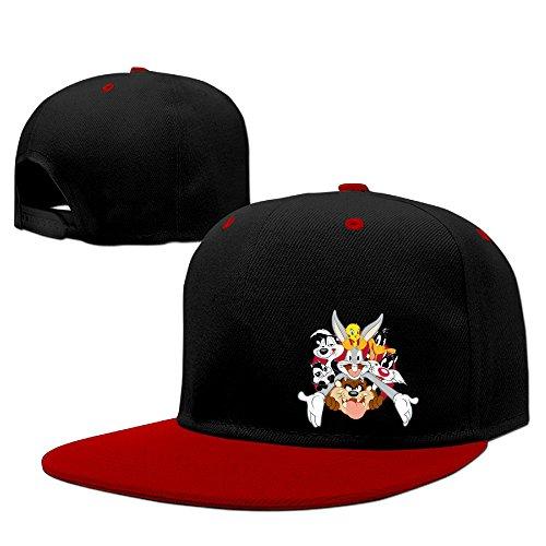 海猫 カートゥーン キャラクター ロゴ ヒップホップ 野球帽子 B系 平らつば キャップ BBキャップ 男女兼用 ユニセックス