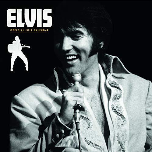 Elvis Official 2019 Calendar - Square Wall Calendar Format