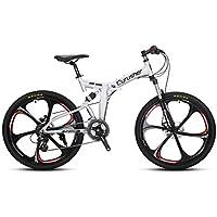 VTSP 100RD MTB 折りたたみ 自転車26インチ マウンテンバイク シマノ24段変速 通勤通学