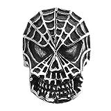 Rockyu ファッション アクセサリー メンズ レディース リング ステンレス ブラック スパイダーマンリング