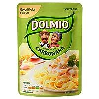 Dolmioのカルボナーラマイクロ波醤油170グラム (x 4) - Dolmio Carbonara Microwave Sauce 170g (Pack of 4) [並行輸入品]