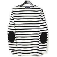 セントジェームス ウェッソン エルボーパッチ バスクシャツ SAINTJAMES OUESSANT ELBOW PATCH ボーダー 無地 【レディース&メンズ】