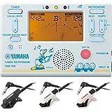YAMAHA ヤマハ TDM-700DD2 ドナルドダック + TM-30 チューナー/メトロノーム + コンタクトマイクセット/マイク色 WH