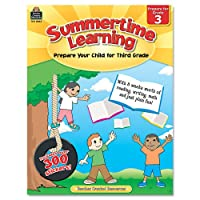 Summertime Learning, Reading, Writing, Math, Grade 3, 112 Pages (並行輸入品)