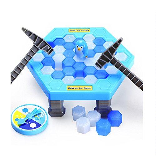 クラッシュアイスゲーム ペンギントラップ おもちゃ家族や友達...