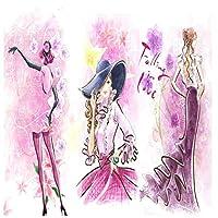 山笑の美 カスタム壁画壁紙3dファッショントレンド婦人服店写真の壁紙-310X200CM