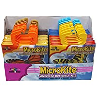 x-kites microkitesバタフライAssortment of Mylarミニ凧、24ピースPDQ
