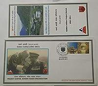 Golden Jubilee of Project Dantak Border Roads Organisation-Army Postal Cover (APO)
