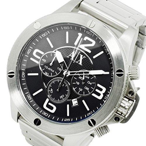 アルマーニ エクスチェンジ クオーツ メンズ クロノ 腕時計 AX1501 シルバー 並行輸入品