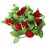 Amazon.co.jpSherry バラ色花冠 フラワー ヘッドドレス  結婚式 ウェディング イベント ブライダル 華麗