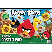Cra-Z-Art 13.5 x 19.5 Inches Angry Birds Giant Coloring Pad (38212) by Cra-Z-Art