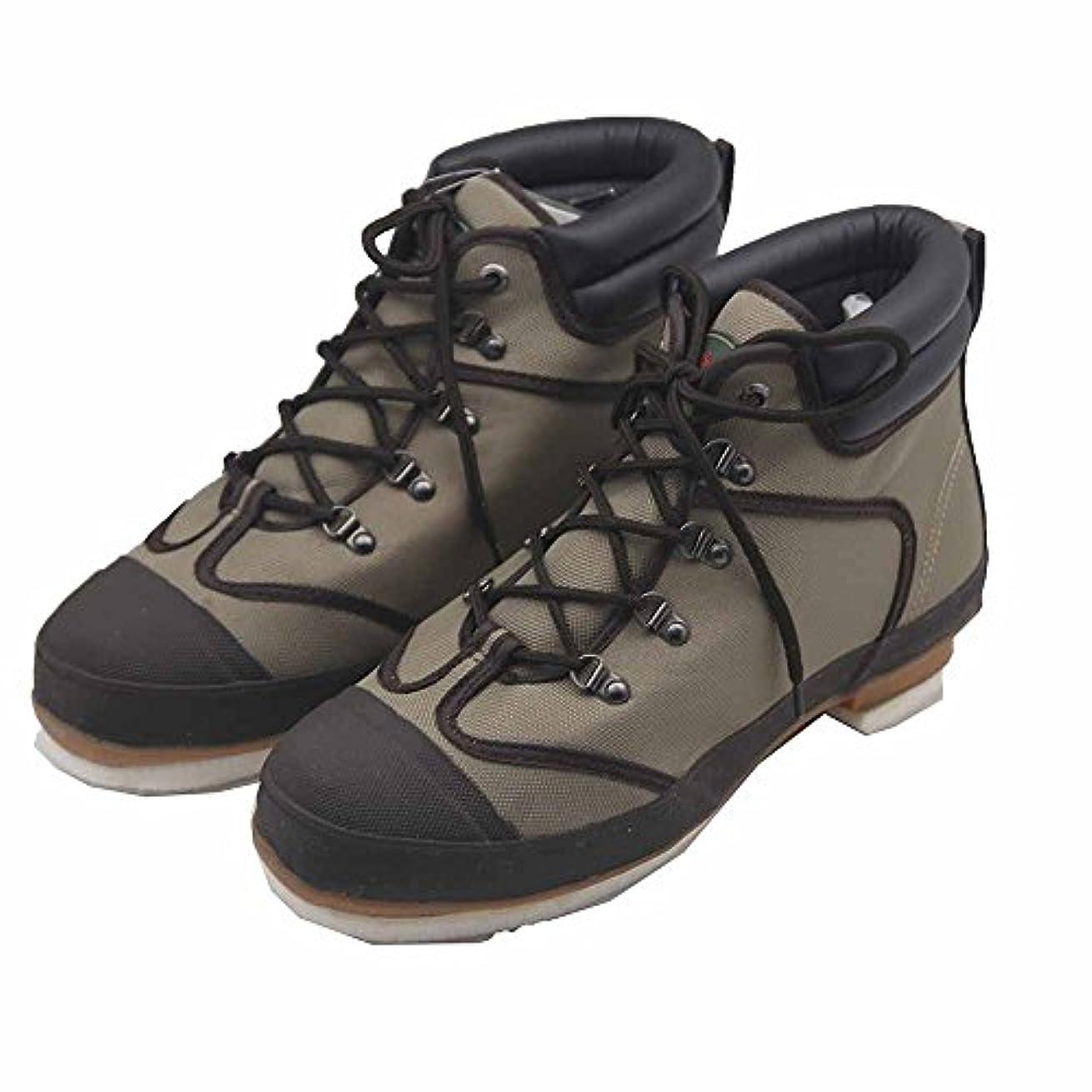 パーチナシティロック不利Pro Lineメンズ52502ナイロンWading Boots withフェルト底、10グリーンUS