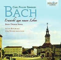 CPE Bach: Oden - Sacred Songs by Julian Redlin (2012-02-16)