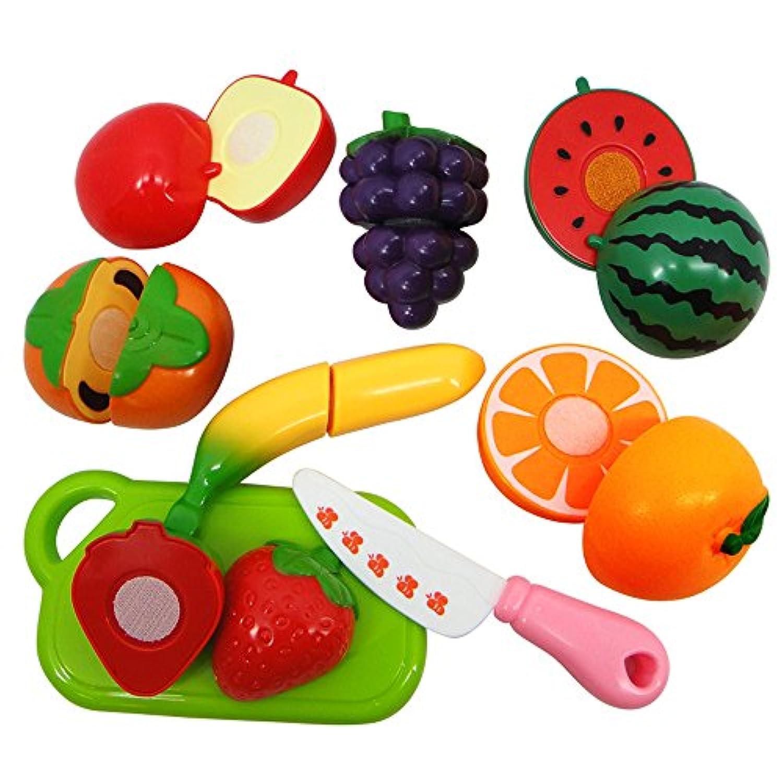 教育おもちゃ、baomabao 7pcs PlayhouseおもちゃSmall Fruit Shopシミュレーションキッチン用品子供おもちゃ