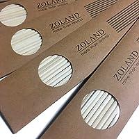 【YOLO】リードディフューザー用 ラタンスティック リフィル/ナチュラル 24cm×3mm 10本入×5セット (ナチュラル)