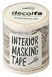 ニトムズ decolfa インテリア マスキングテープ フレームゴールド きれいにはがせる 幅5cm×長さ8m M3602