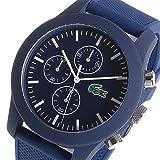 ラコステ 通販 ラコステ LACOSTE クロノ クオーツ メンズ 腕時計 2010824 ネイビー/ホワイト 腕時計 海外インポート品 その他メンズ[輸入品] [並行輸入品]