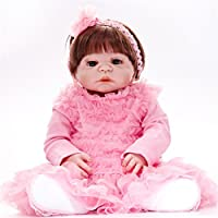 リボーンドール素敵な赤ちゃんおもちゃのシリコーンギフトおもちゃ新生児の赤ちゃんおしゃぶりのおもちゃのおもちゃ子供のおもちゃ子供の遊び人の誕生日のクリスマスプレゼント , B