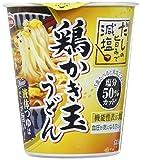 エースコック タテ型 だしの旨みで減塩 鶏かき玉うどん 67g ×12個