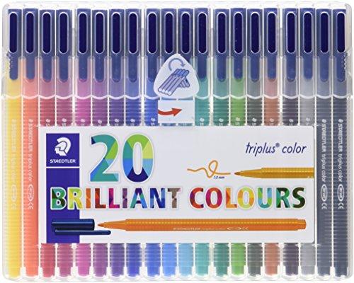 ステッドラー 蛍光ペン トリプラス 323 SB20 20色