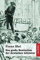 Das Grosse Bestiarium Der Deutschen Literatur