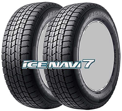 2本セット 15インチ スタッドレスタイヤ GOODYEAR(グッドイヤー) ICE NAVI 7(アイスナビ セブン) 195/65R15 91Q