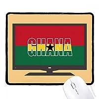 ガーナ国の旗の名 マウスパッド・ノンスリップゴムパッドのゲーム事務所