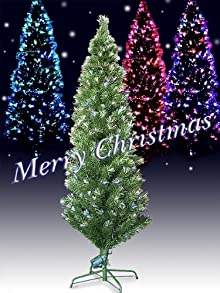 Xmas 高輝度LEDファイバークリスマスツリー 高さ120cm グリーン