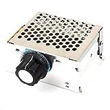 uxcell 電圧調整器 電圧レギュレーター AC220V 4000Wパワー 1個