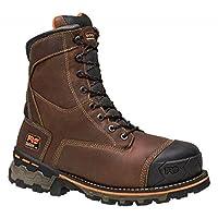 """(ティンバーランド) Timberland PRO メンズ シューズ・靴 ブーツ Boondock 8"""" Composite Toe Waterproof 600G Boot [並行輸入品]"""
