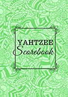 Yahtzee Scorebook: Yahtzee Scores, Scorebook, Score Pads, Scorekeeping Book, Scorecards, Record Scorekeeper Book Gifts for Fans, Game lovers, Friends and Family, For Birthdays, Christmas, Thanksgiving, Vacation, with 110 Pages. (Yahtzee Score Book)