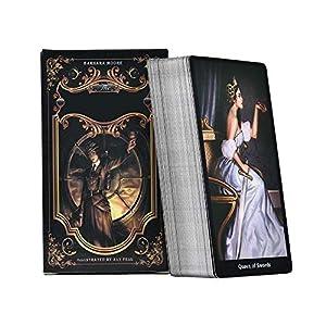 YWRB カード収納袋を遊ぶ家族の収集パーティーのための78PCSタロットカードボードゲームカードデッキ