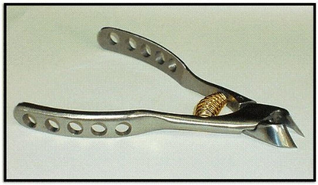 とらえどころのない邪悪な解明日本製 プレミアム?ニッパー爪切 穴あきクレーター高級ンハンドル  難儀爪や巻爪に! 完全品