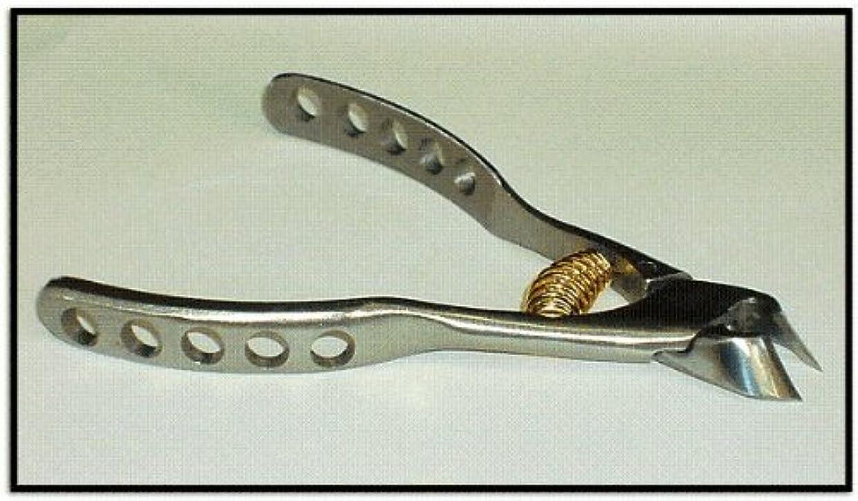 推論秘密のスペア日本製 プレミアム?ニッパー爪切 穴あきクレーター高級ンハンドル  難儀爪や巻爪に! 完全品