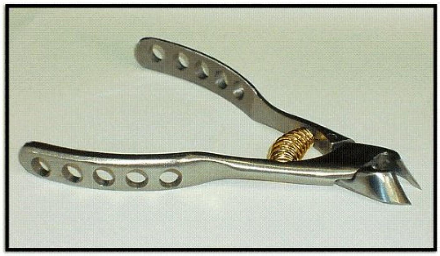主張する算術契約した日本製 プレミアム?ニッパー爪切 穴あきクレーター高級ンハンドル  難儀爪や巻爪に! 完全品