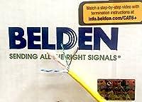 Belden 2413 004100M Plenum Yellow Cat 6+ 100 Meter (328 Feet) on a spool