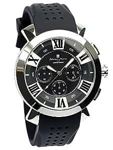 [サルバトーレマーラ]腕時計 ウォッチ メンズ 限定モデル イタリアブランド 立体インデックス ビジネス カジュアル 10気圧防水 【雑誌掲載モデル】