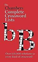 Chambers Crossword Lists
