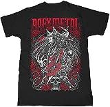「Download Festival 2018」出演決定 BABYMETAL ベビーメタル - ROSE WOLF / Tシャツ / メンズ 【公式 / オフィシャル】