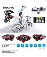 自転車カメラ 1080P FHD WiFi バイク スポーツカメラ ビデオレコーダー DV カムコーダー GPS リア