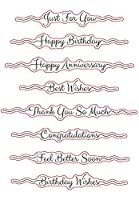 LETTER Transparent Clear Silicone Stamp Seal DIY Scrapbooking photo Album Decorative A0620
