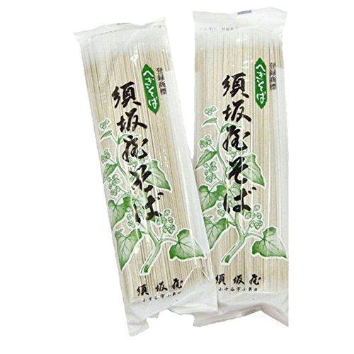 越後小千谷 須坂屋 へぎそば 200g×15把 つゆなし 乾麺
