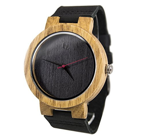 Mens Ebony Watch Made Of Wood ...