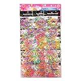 【台紙玩具】カラフルワゴム (24付)  / お楽しみグッズ(紙風船)付きセット