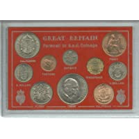 Farewell To The GBPsd System Pre-Decimal GBP.s.d (10 coins) Crown Coin Present Display Gift Set