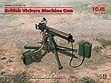 ICM 1/35 イギリス陸軍 ヴィッカース重機関銃 プラモデル 35712