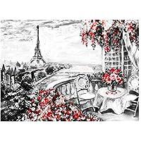 Diy 5Dダイヤモンド塗装キット風景ギフト用の家の装飾フルドリルラインストーンクリスタル刺繍写真クロスステッチアート、40x50cm