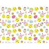 [90x200cm]テーブルクロス「ハッピーエッグクロス」 復活祭 デコレーション 春 イースター飾り