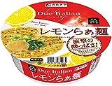 寿がきや ドゥエイタリアン監修 レモンらぁ麺 111g×12個